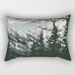 Glacier National Park Rectangular Pillow