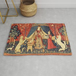 Lady and Unicorn Rug