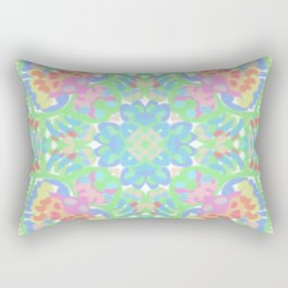 Tropical Flowers Rectangular Pillow