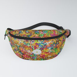 Colorful abstract puzzle Fanny Pack