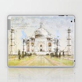 Taj Mahal, India Laptop & iPad Skin