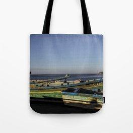 Fishin Boats Tote Bag