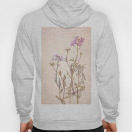 Pink floral design Hoody