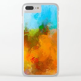 Expressions 42 Clear iPhone Case