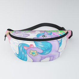 g1 my little pony Princess Amethyst and Spiny Fanny Pack