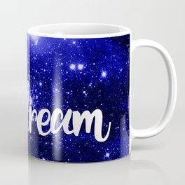 Blue Galaxy Dream Coffee Mug