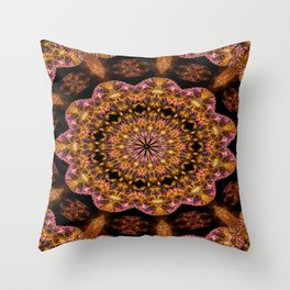 Mystical Crystal Blend Throw Pillow