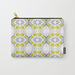 Pattern 43 - Maple Leaf and Branches pattern Carry-All Pouch