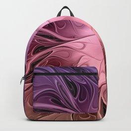 Flower Dream, Abstract Fractal Art Backpack