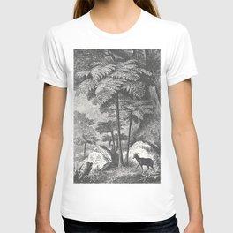 Deer and Fern T-shirt