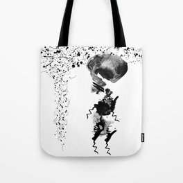 human in shower Tote Bag