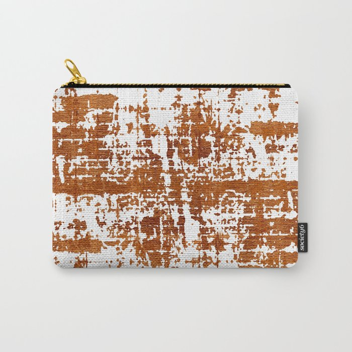 Bronze Abstract III Carry-All Pouch