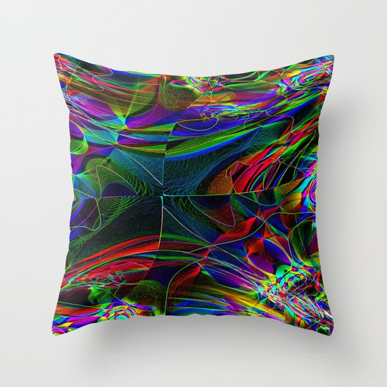Complex Throw Pillow