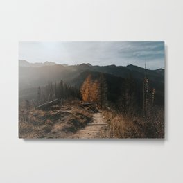 Autumn Hike - Landscape and Nature Photography Metal Print