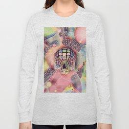 Utopia 2 / Anaglyph Skull Long Sleeve T-shirt