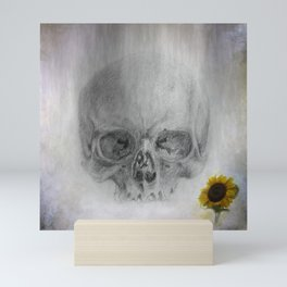 darkness and light - life and death Mini Art Print