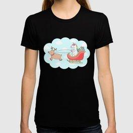 Unicorn Sleigh T-shirt