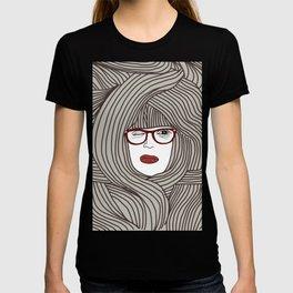 Long Hair Woman T-shirt