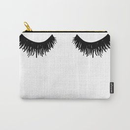 Eyelashes Lashes Art Carry-All Pouch