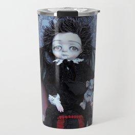 Vincent Vespertillo, the little vampire boy Travel Mug