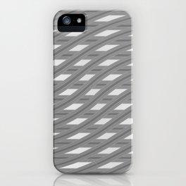 Crazy greylines 1 iPhone Case