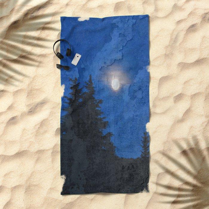 Fullmoon Beach Towel