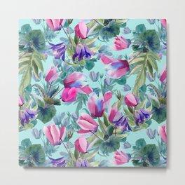 """""""Summer flowers"""" Metal Print"""