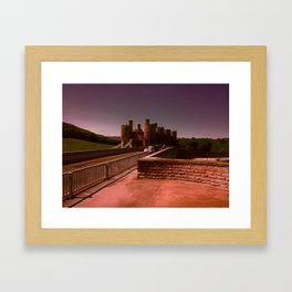 Conway Castle (Digital Art) Framed Art Print