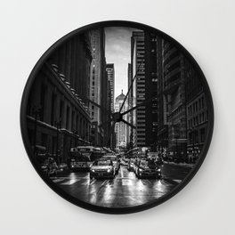Chicago Street Wall Clock