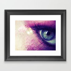 Coral Love Framed Art Print