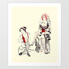 Cabaret Cafe Art Print