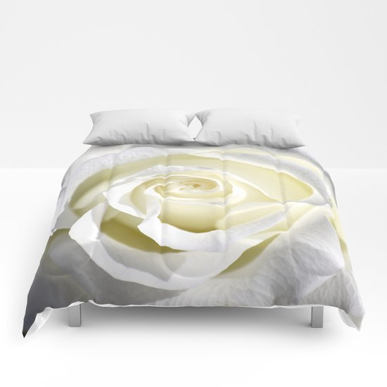 White Rose  Comforters