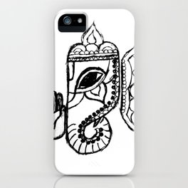 Ganesha iPhone Case