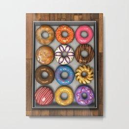Box of Doughnuts Metal Print