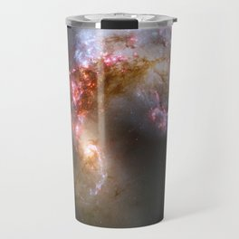 Galaxy tornado nebula bright stars constellation cluster swirl hipster star Nasa space photograph Travel Mug
