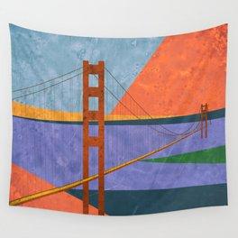 Golden Gate Bridge II Wall Tapestry