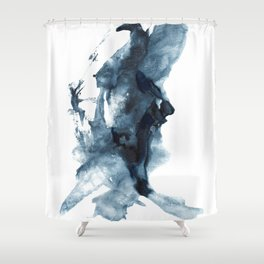 Indigo Depths No. 4 Shower Curtain