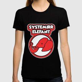 System irrelevant Quarantine Home office gift T-shirt