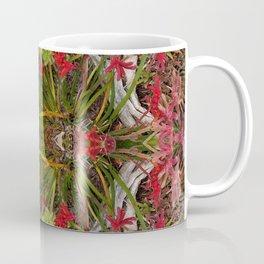 Queen Mardi Gras of the Garden (Mandala-esque #187aa) Coffee Mug