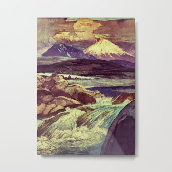 The Rising Fall Metal Print