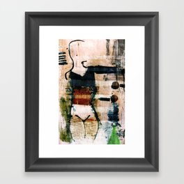 dancer 3 v1 Framed Art Print