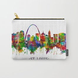 St. Louis Missouri Skyline Carry-All Pouch