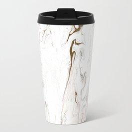 Gold Marble Travel Mug