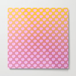 As If Candy Heart Metal Print