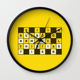 Religion numbs critical thinking  Wall Clock