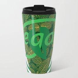 Vegan Monogram [Triangle] Travel Mug