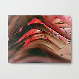 Acrylic textures art Metal Print