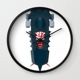Pitbull Hoverboard Wall Clock