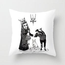 Twelve Throw Pillow