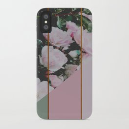 Pink Roses Palette iPhone Case